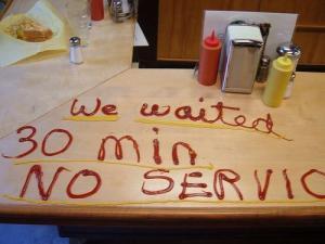 waiter feedback